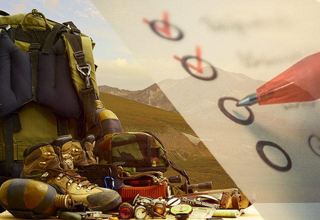 Camping Checkliste Packliste