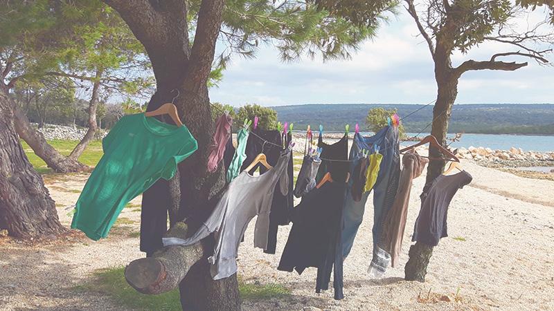 Kleidung fürs Campen
