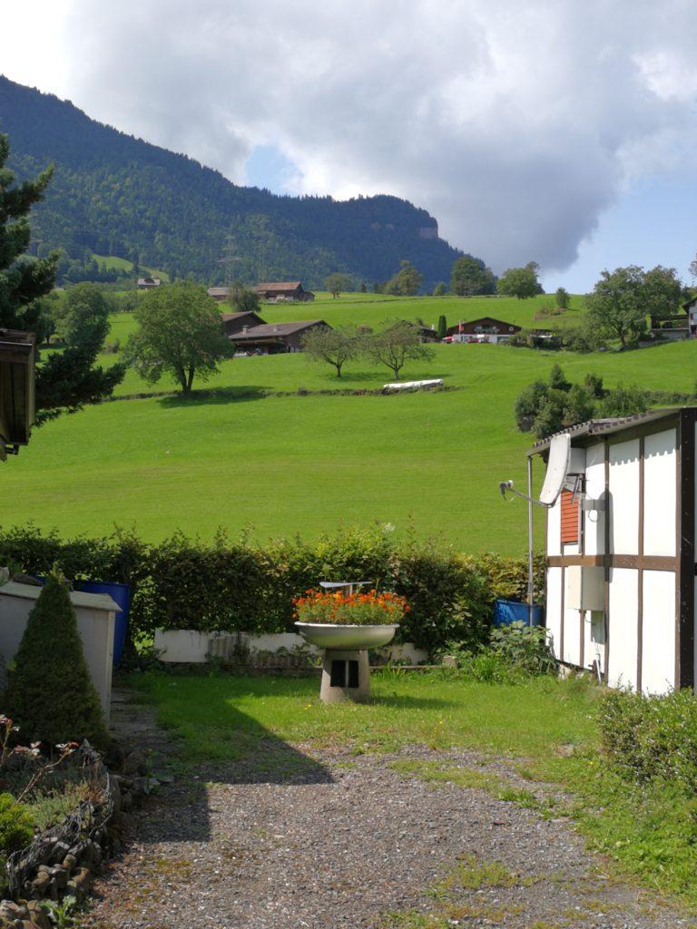 Aussicht Platz Buosingen Goldau