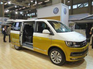 VW Bulli 2017 am Amag Stand