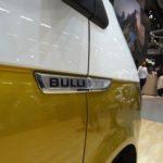 Nahaufnahme Bulli-Logo