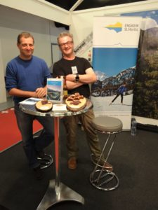 Messestand Engadin am SCS 2017
