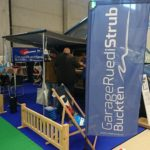 Messestand der Garage Ruedi Strub