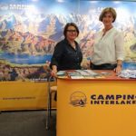 Messestand Camping Interlaken