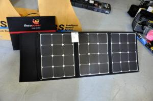 Mobiles Solarpanel