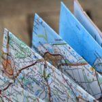 Strassenkarte als Weihnachtsgeschenk für Campingfans