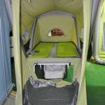 Microwohnwagen B Turtle - installiert