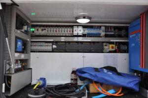 Nahaufnahme Helvetic One Elektronische Ansteuerung und Haustechnik