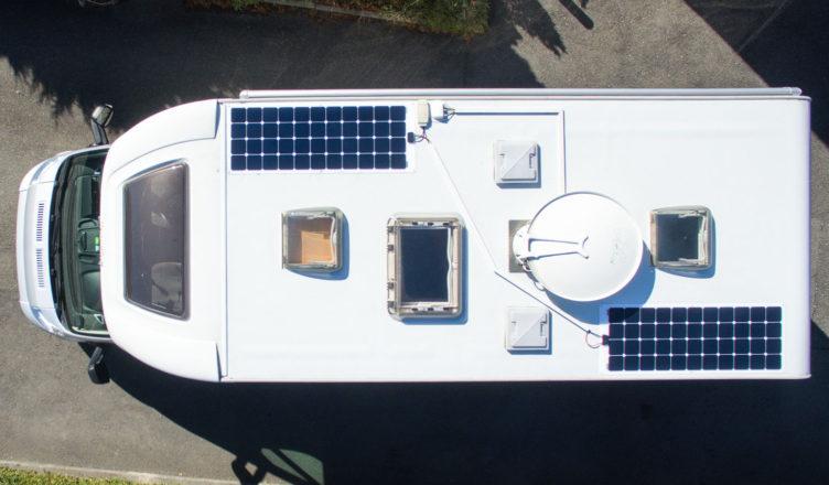 erfahrungen mit einer solaranlage auf dem wohnmobil emagazin. Black Bedroom Furniture Sets. Home Design Ideas