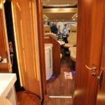 Badezimmer in Wagenmitte