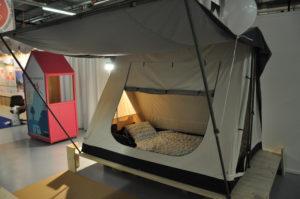 Sonderschau Camping mit Familie