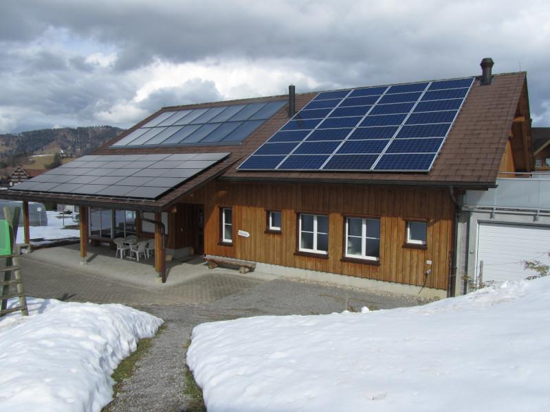 Stromerzeugung mit Solarenergie