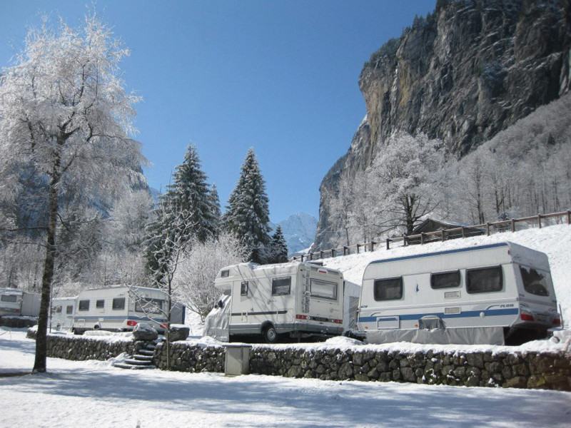 Caravanning im Winter