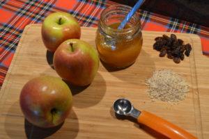 Zutaten für Bratapfel