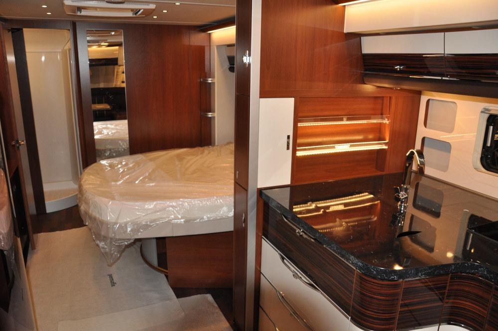 Tabbert Cellini - Bett und Küche