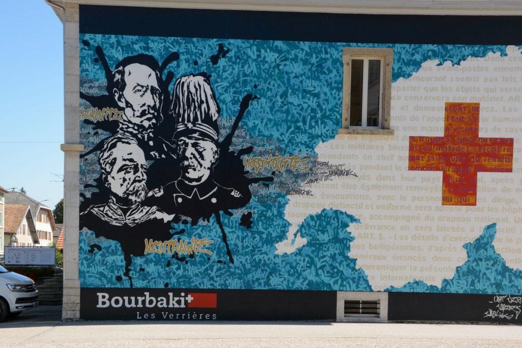 Bourbaki Denkmal