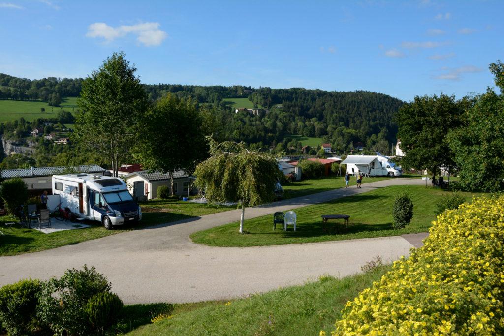 Campingplatz Lac des Brenets