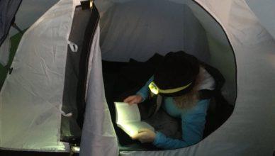 Wintercamping im Zelt