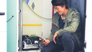 Solargenerator-im-Einsatz