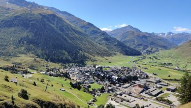 Gotthard Camping - Campen in Andermatt