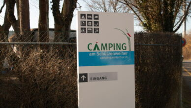 Campingplatz Winterthur am Schützenweiher
