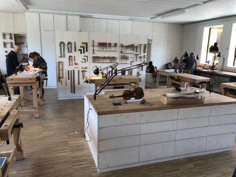 Geigenbau-Werkstatt