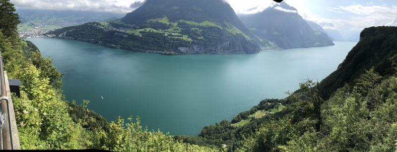 Panorama von Selisberg
