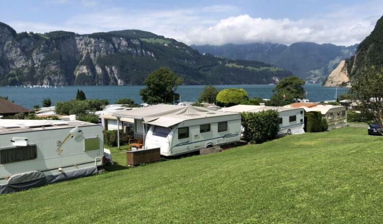 Campingtour Jura bis Zentralschweiz