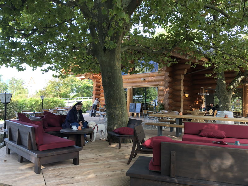 Gartenlounche Camping Alpenblick