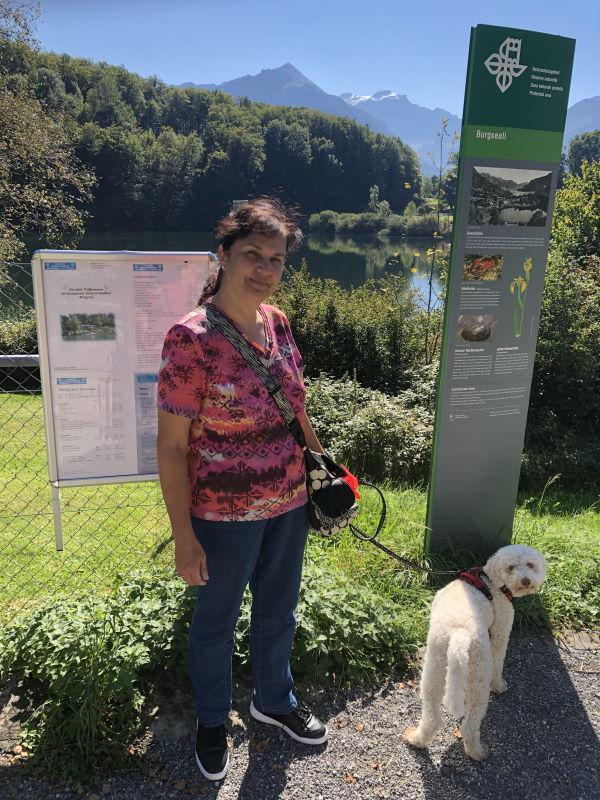 Spazierweg ums Burgseeli